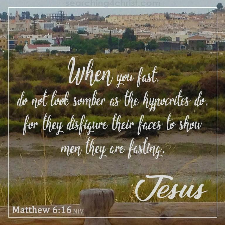 Matthew 6:16