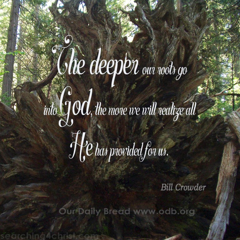 Deeper Roots in God
