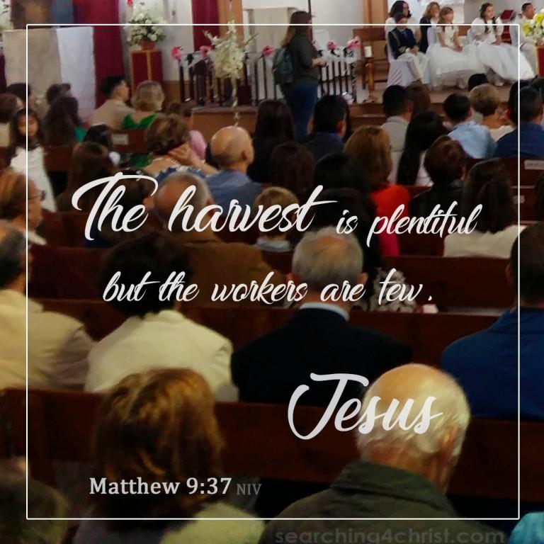 Matthew 9:37