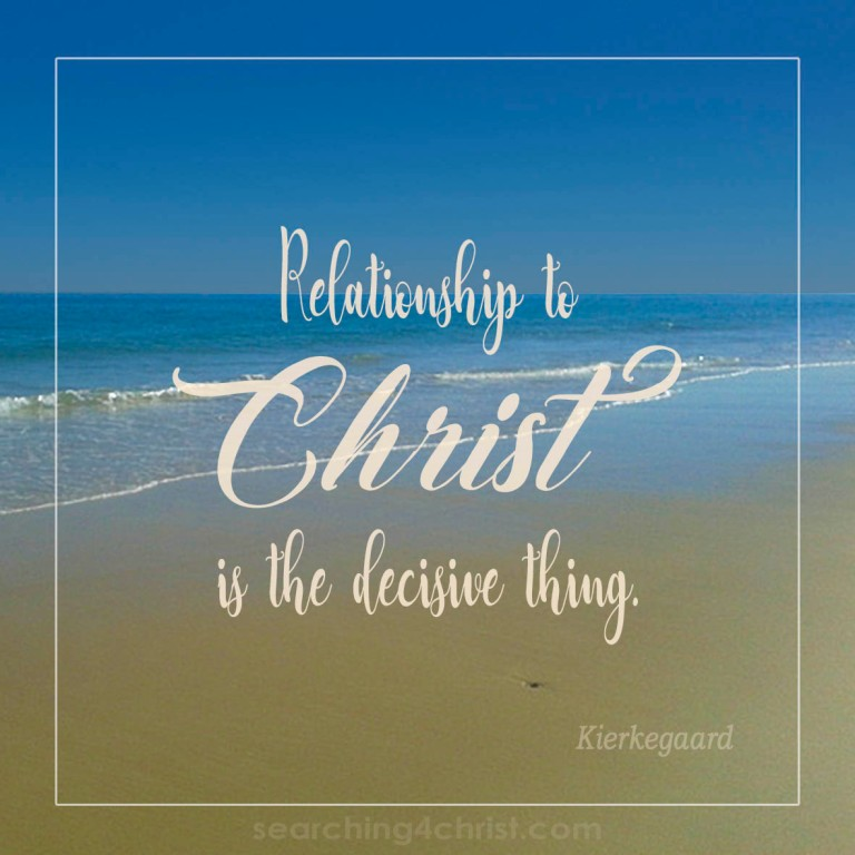 Relationship to Christ