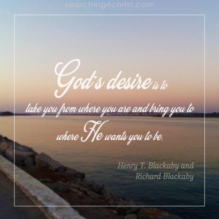 God´s Desire