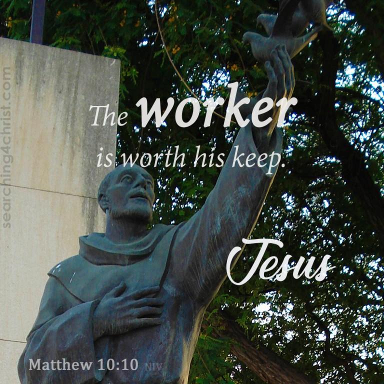 Matthew 10:10
