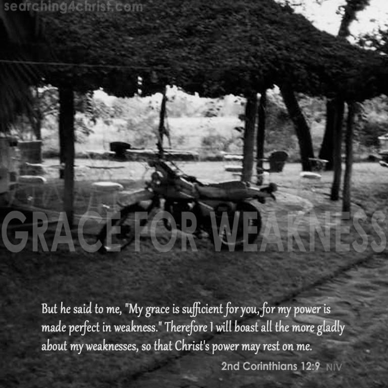 Grace for Weakness