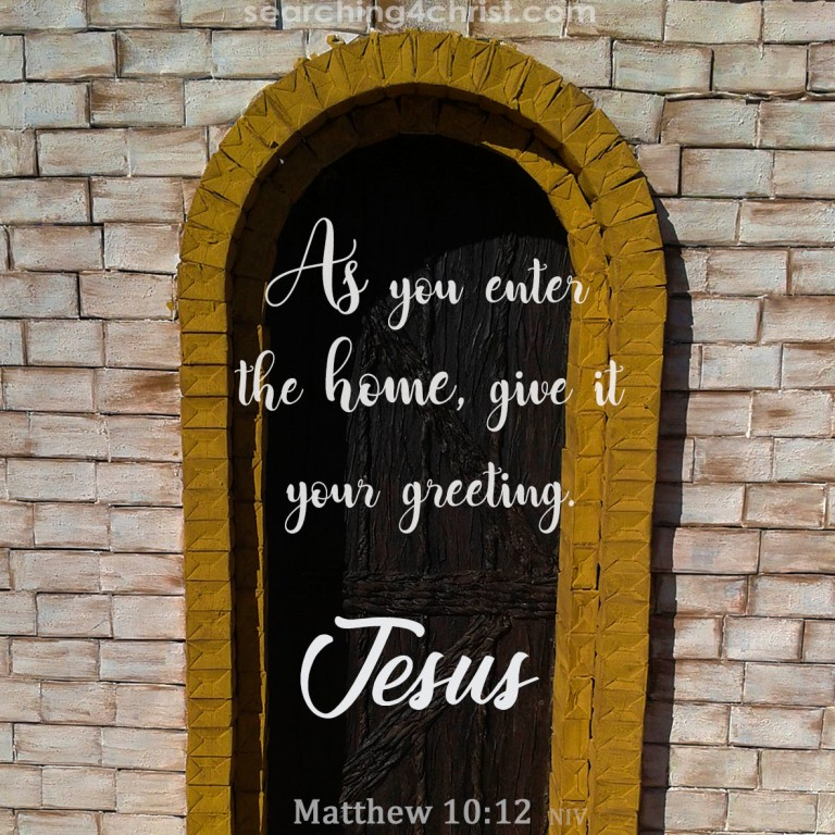 Matthew 10:12