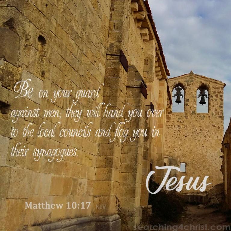Matthew 10:17