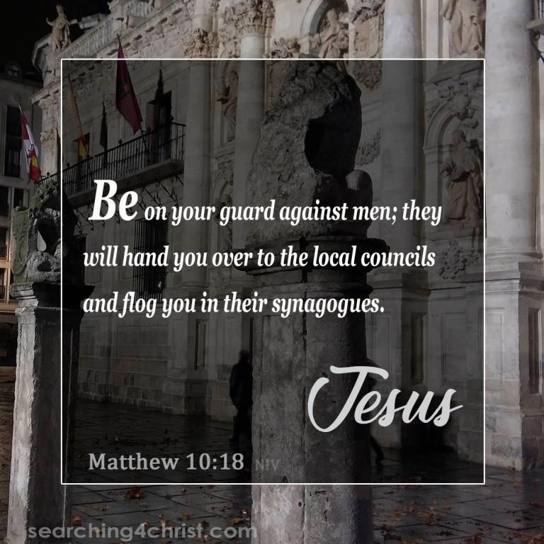 Matthew 10:18