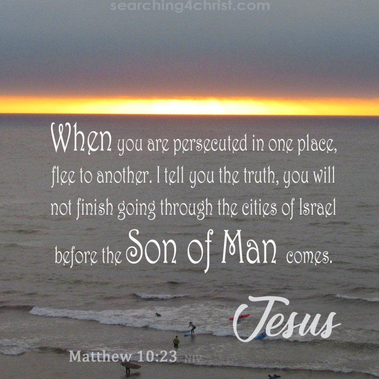 Matthew 10:23