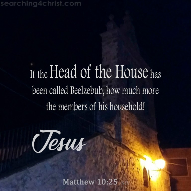 Matthew 10:25