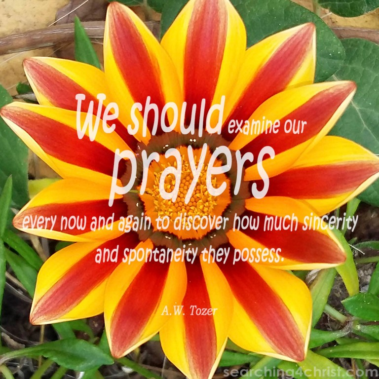 Examine Prayers