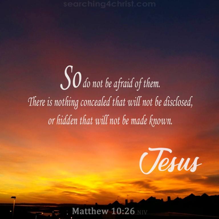 Matthew 10:26
