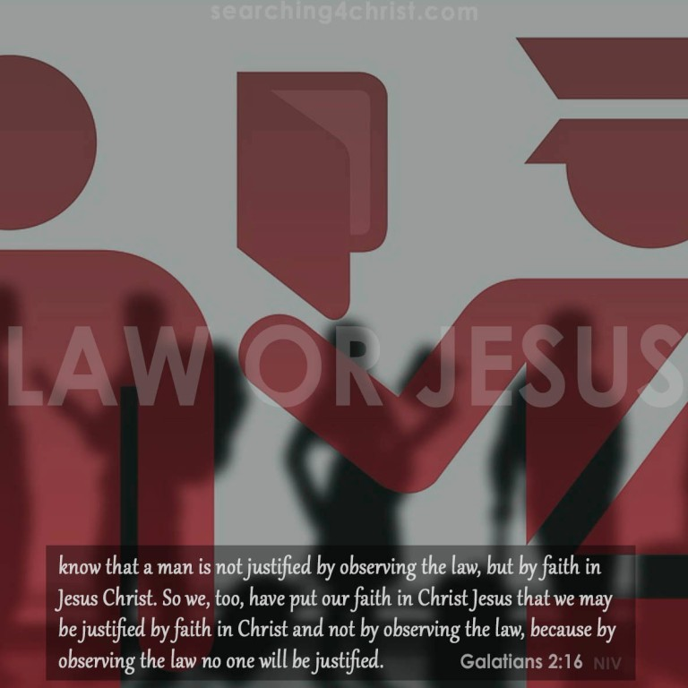 Law Or Jesus