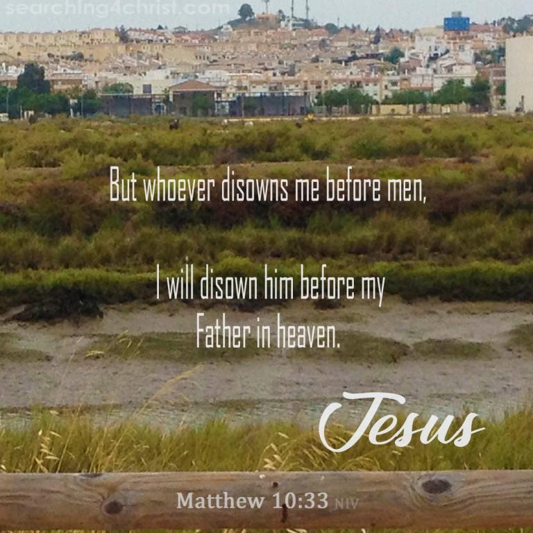 Matthew 10:33