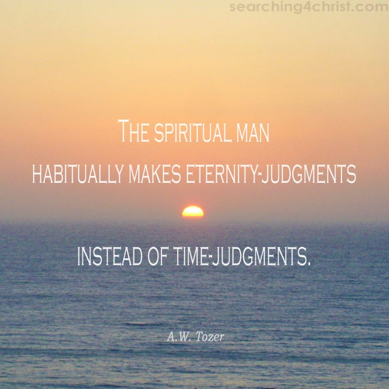 Spiritual Man´s Judgments