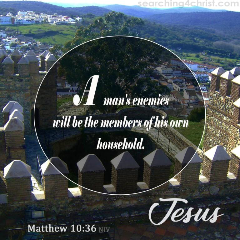 Matthew 10:36