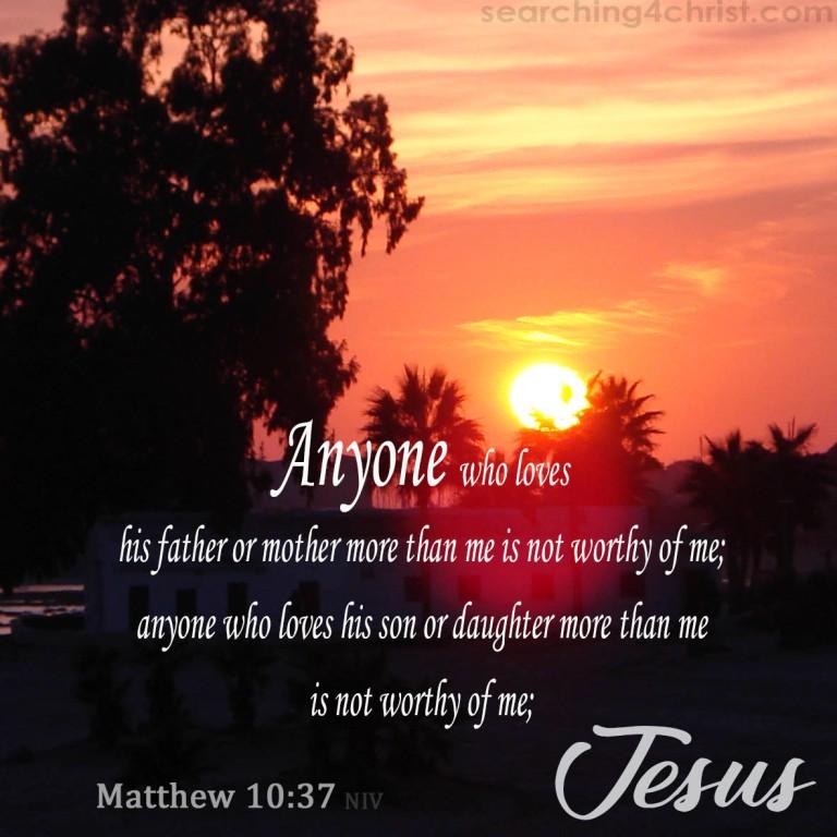 Matthew 10:37