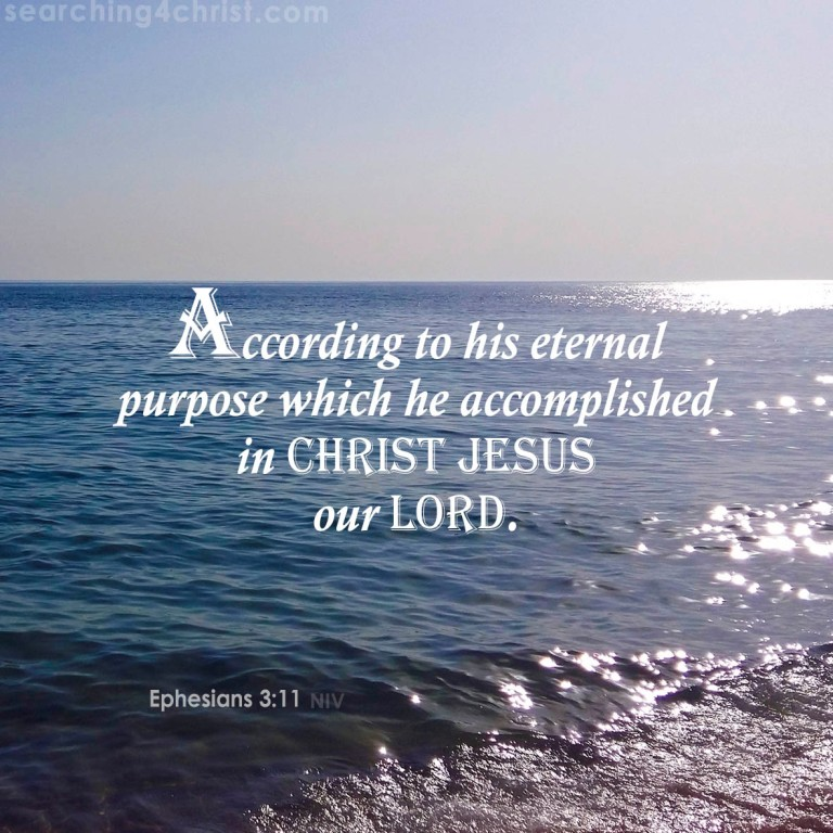 Ephesians 3:11 Eternal Purposes