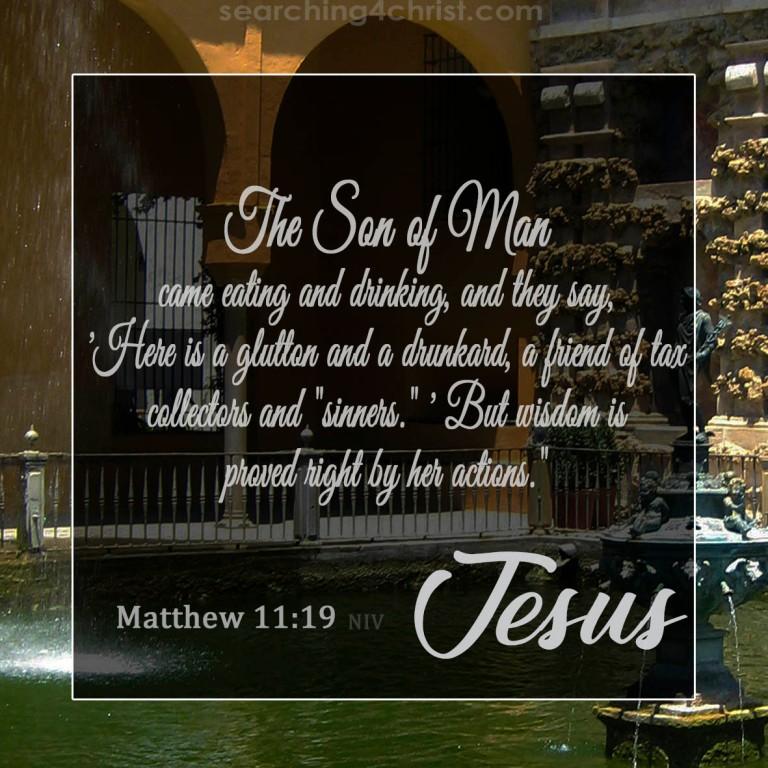 Matthew 11:19