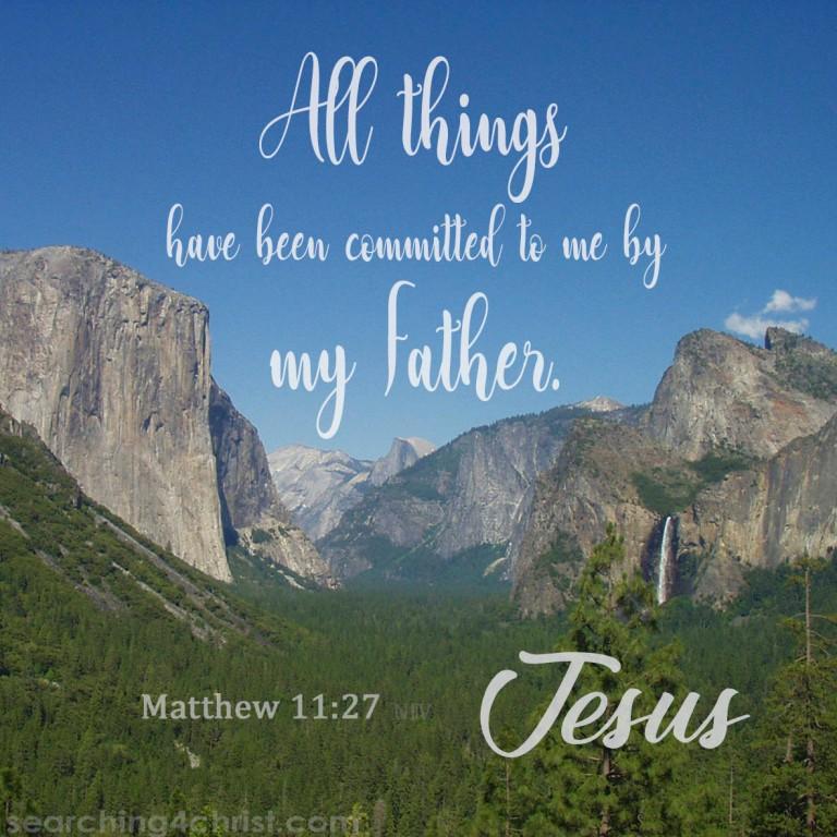 Matthew 11:27