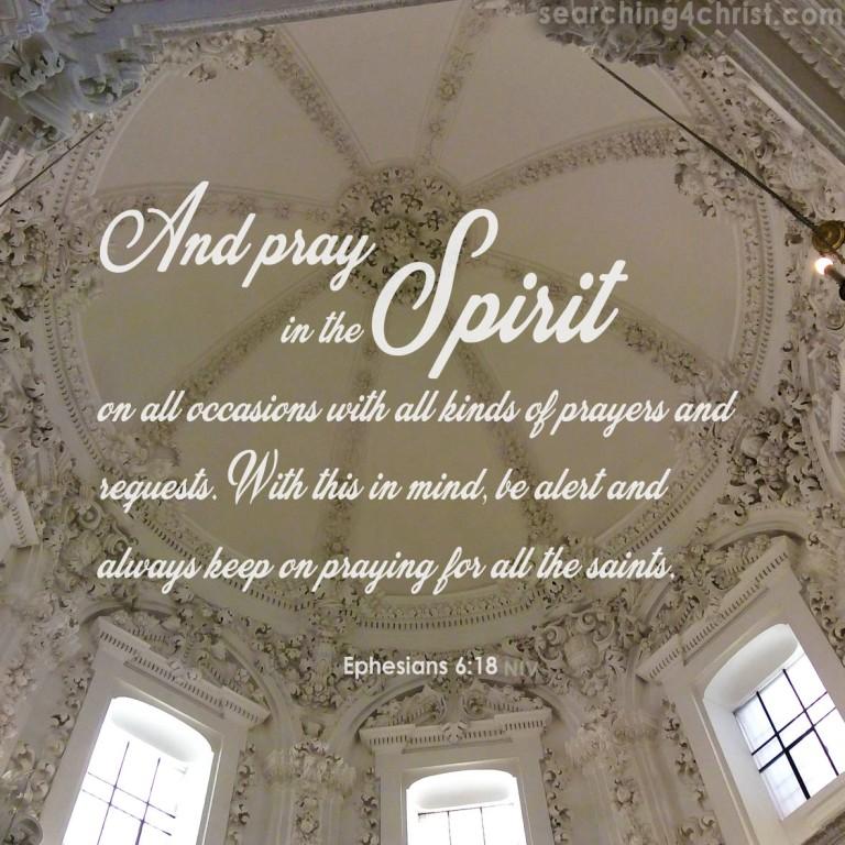 Pray in Spirit