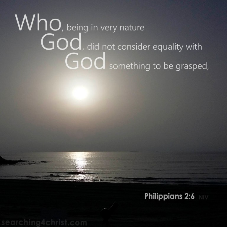 Philippians 2-6 - Very Nature God