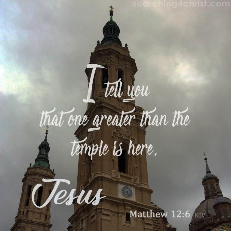 Matthew 12:6