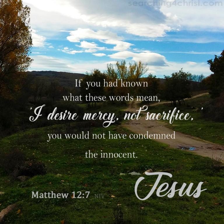 Matthew 12:7