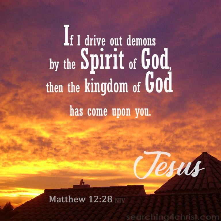 Matthew 12:28