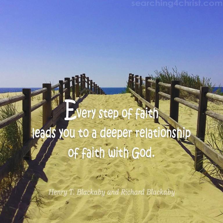 Every Step of Faith