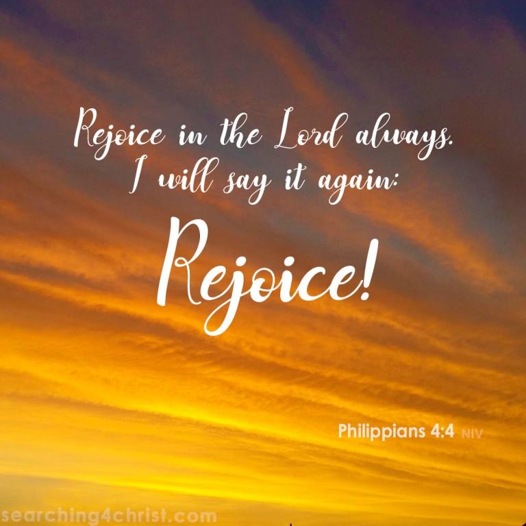 Philippians 3:20 - Rejoice!