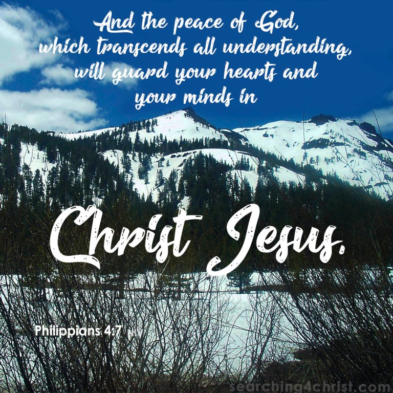 Philippians 4:7 - The Peace of God