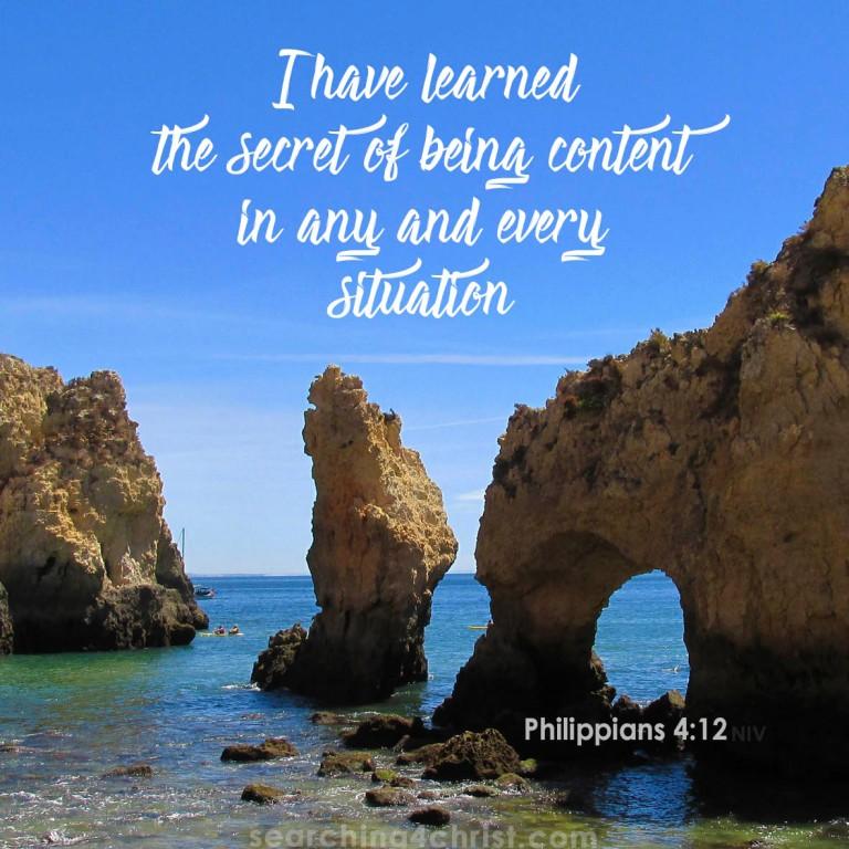 Philippians 4-12 Contentment