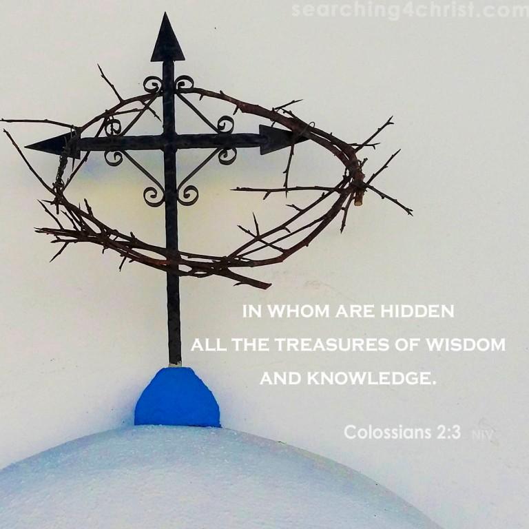 Colossians 2:3 Treasures of Wisdom