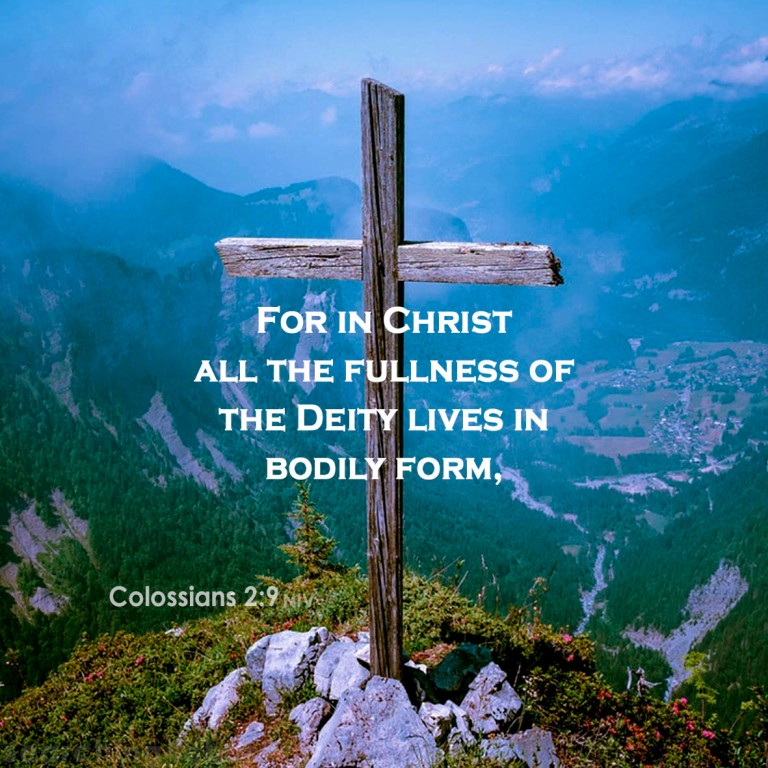 Colossians 2:9 Fullness of Deity