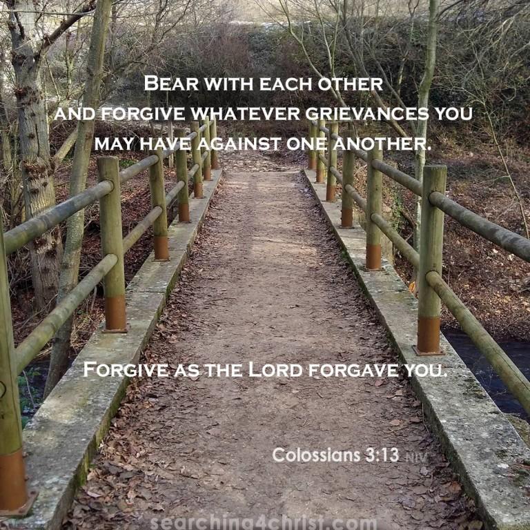 Colossians 3:13 Forgive
