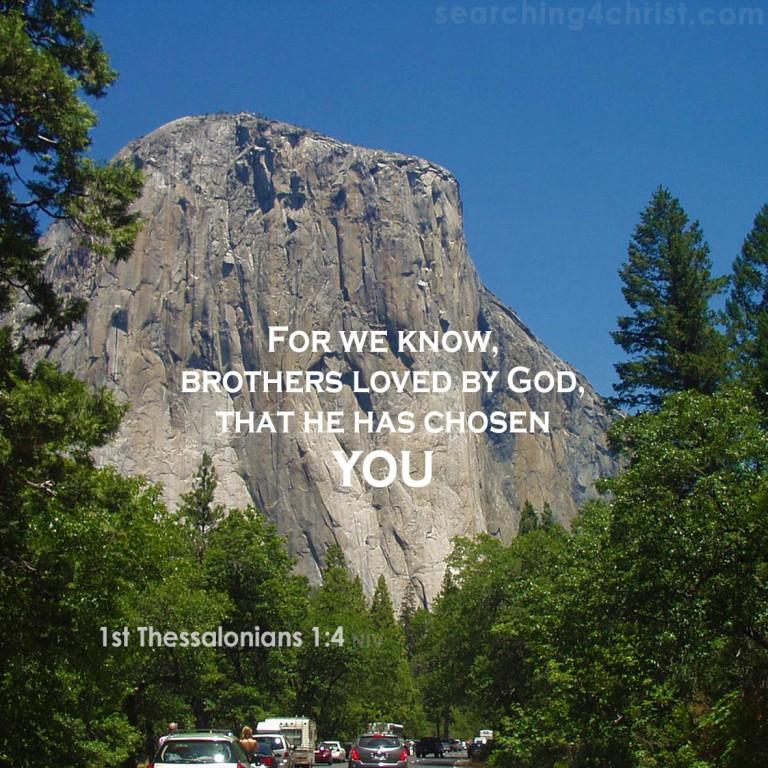 1st Thessalonians 1:4 Chosen