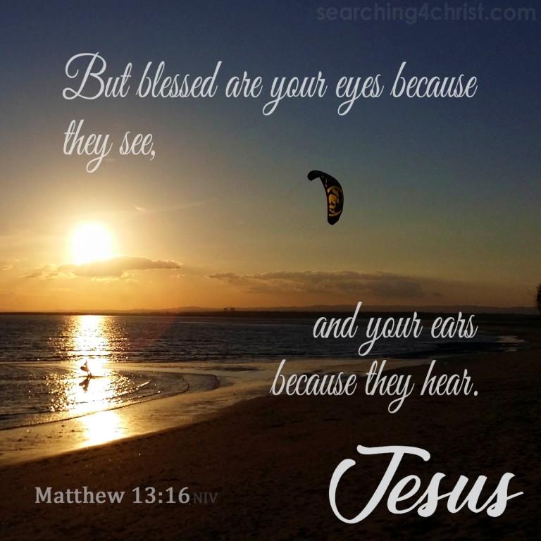 Matthew 13:16
