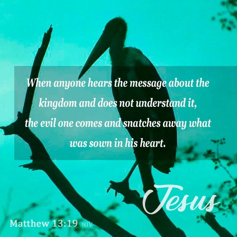 Matthew 13:19