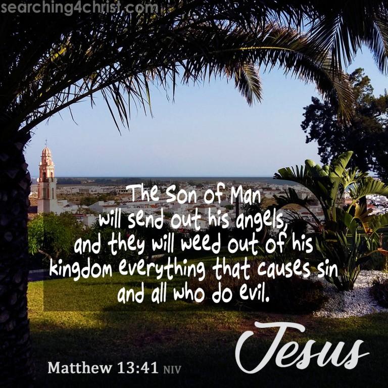 Matthew 13:41
