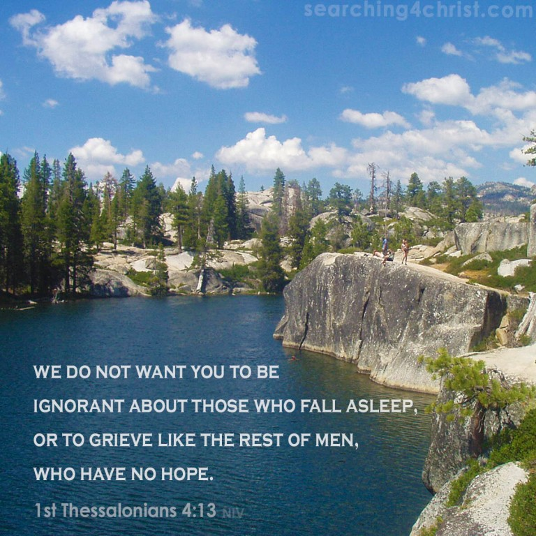 1st Thessalonians 4:13