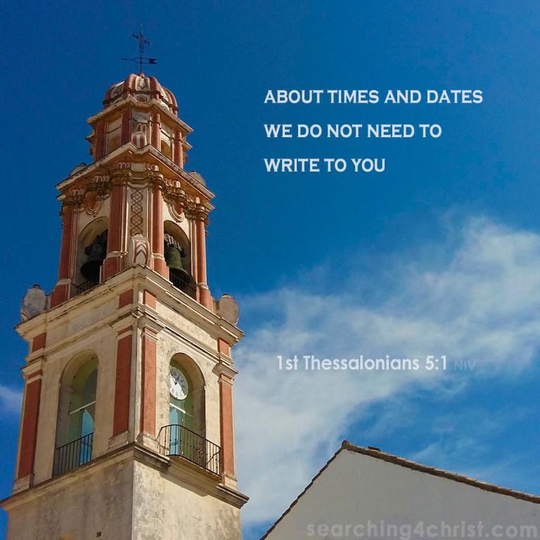 1st Thessalonians 5:1