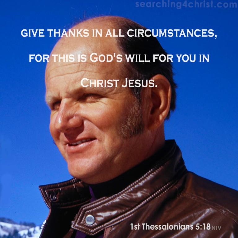 1st Thessalonians 5-18