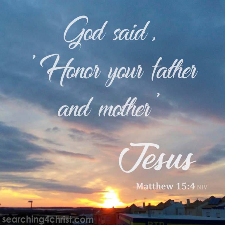Matthew 15:4