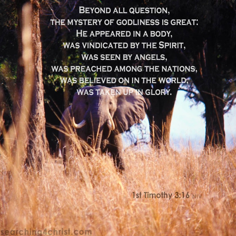 1st Timothy 3:16 Mystery of Godliness
