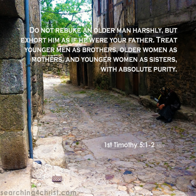 1st Timothy 5:1-2 As Family