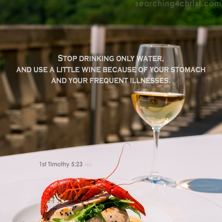 1st Timothy 5:23 A Little Wine