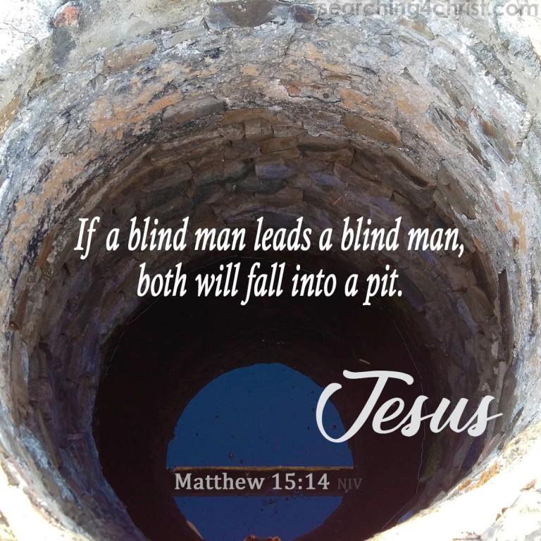 Matthew 15:14