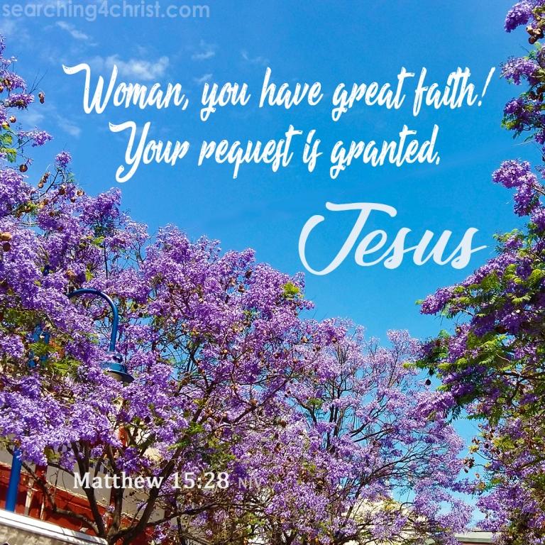 Matthew 15:28