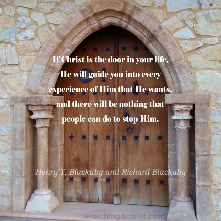 If Christ Is Your Door