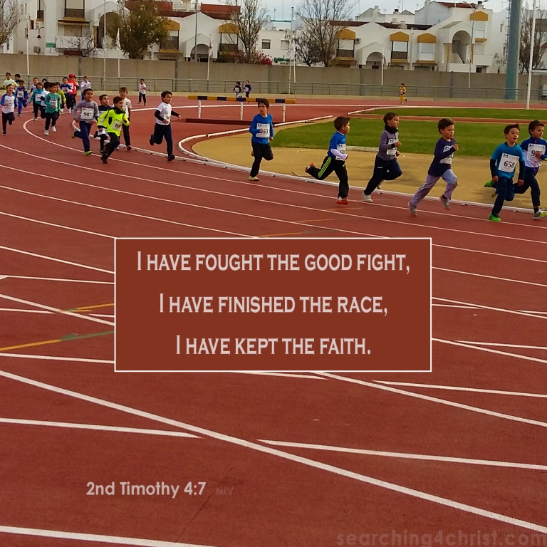 2nd Timothy 4-7 Fighting to Finish