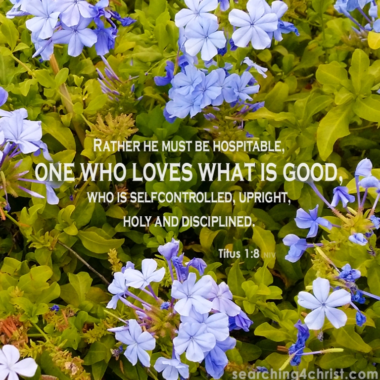 Titus 1:8 Love What is Good